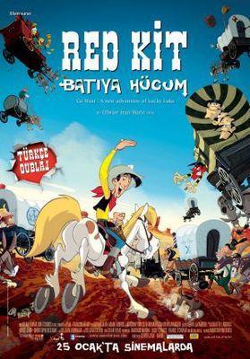 Tous à l'Ouest, une aventure de Lucky Luke - Affiche - Turquie