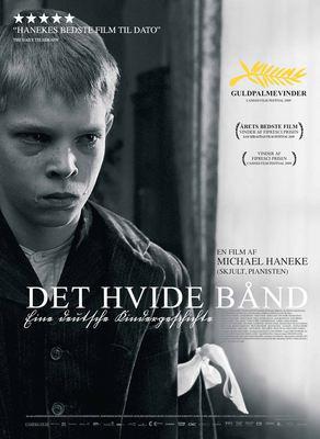 ホワイト・リボン - Poster - Denmark
