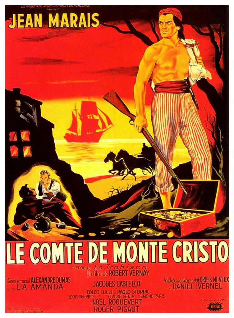 the count of monte cristo 1953 unifrance