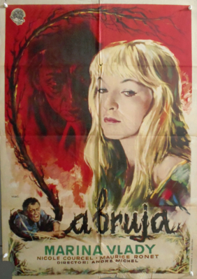 The Blonde Witch / The Sorceress - Poster - Spain