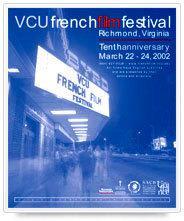 Festival du film français de Richmond - 2002