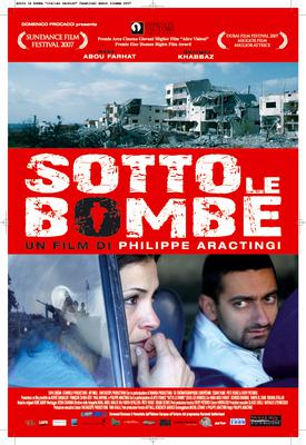 Sous les bombes/戦禍の下で - Poster - Italie