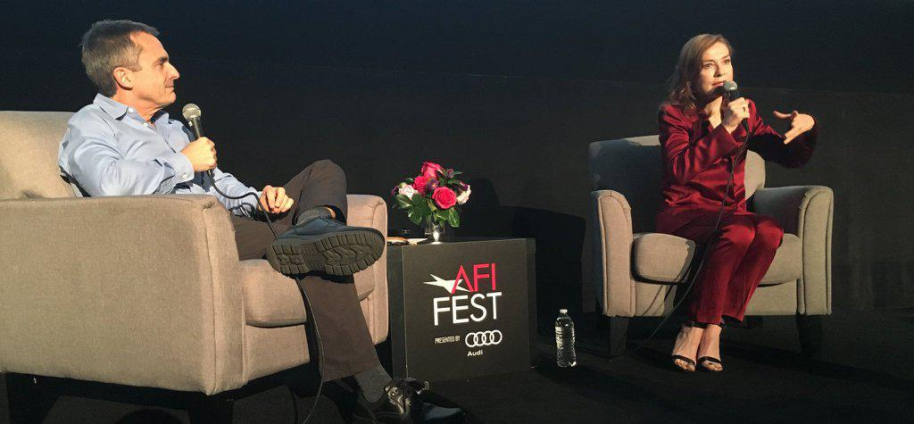 Isabelle Huppert honorée à l'AFI FEST
