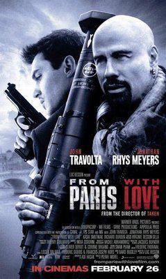 From Paris With Love - Poster - Singapore