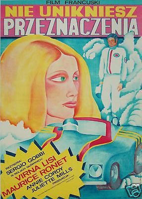El Peligro de amar - Poster Pologne