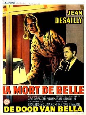 La Mort de Belle - Affiche belge