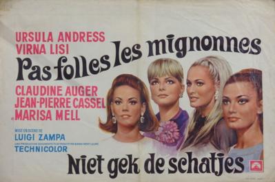 Pas folles les mignonnes - Poster Belgique