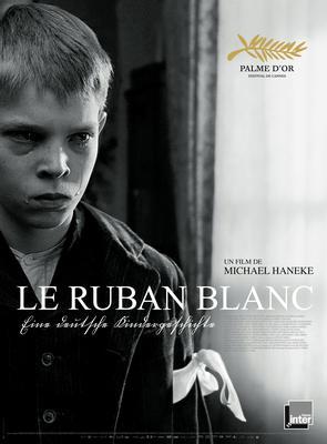 ホワイト・リボン - Poster - France