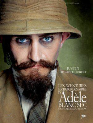 Les Aventures extraordinaires d'Adèle Blanc-Sec - Poster - Suisse - 2