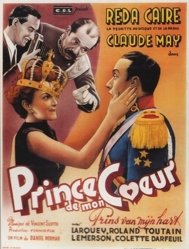 Prince de mon coeur - Poster Belgique