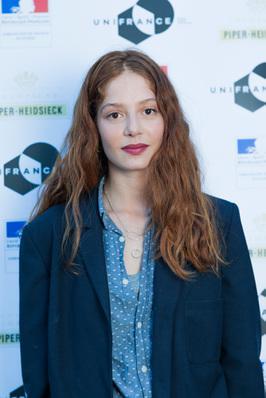 Impresionante delegación francesa en el Festival de Locarno - Jenna Thiam, actrice dans L'Indomptée - © Ivana De Maria / UniFrance