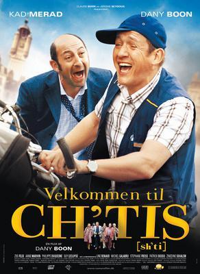 Bienvenue chez les Ch'tis - Poster - Denmark - © Camera Film