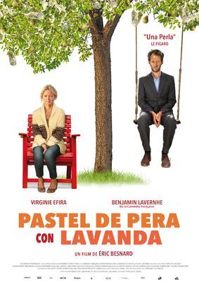 Pastel de pera con lavanda - Poster - Spain