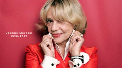 Disparition d'une icone intemporelle, Jeanne Moreau