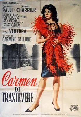 Carmen di Trastevere - Poster Italie