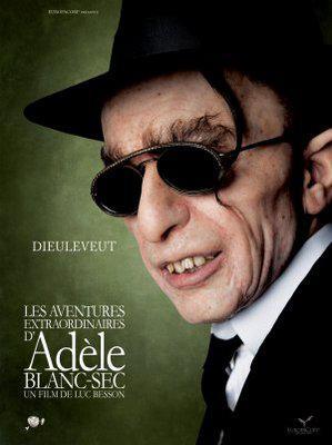 Extraordinary Adventures of Adèle Blanc-Sec/アデル/ファラオと復活の秘薬 - Poster - Suisse - 4