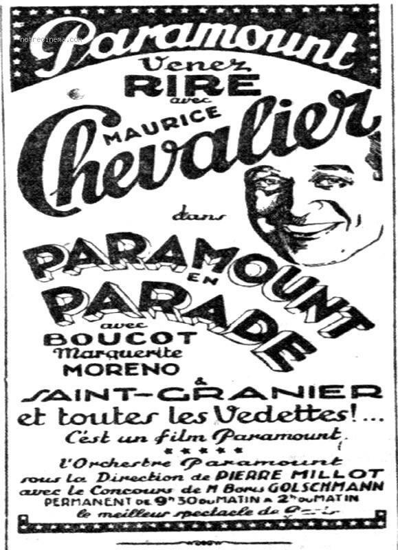 Paramount en parade