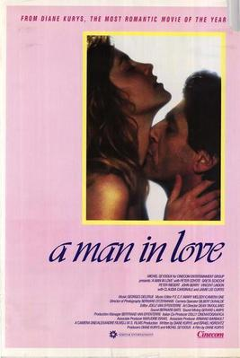 A Man in Love - Poster Etats-Unis