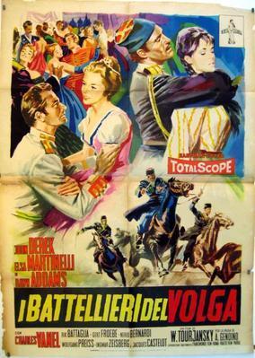 Los Bateleros del Volga - Poster - Italy