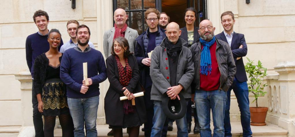 第7回「MyFFF」:視聴回数の記録更新 & ルディ・ローゼンバーグ監督『転校生』のダブル受賞! - © Simon Helloco, Alison Valence, Titouan Labbé, Benoit Martin (La Convention de Genève), Jean-Paul Salomé (Président d'UniFrance)