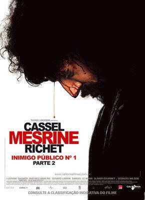 Mesrine : L'ennemi public n°1 - Poster - Brazil