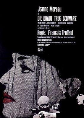 La Mariée était en noir - Poster Allemagne