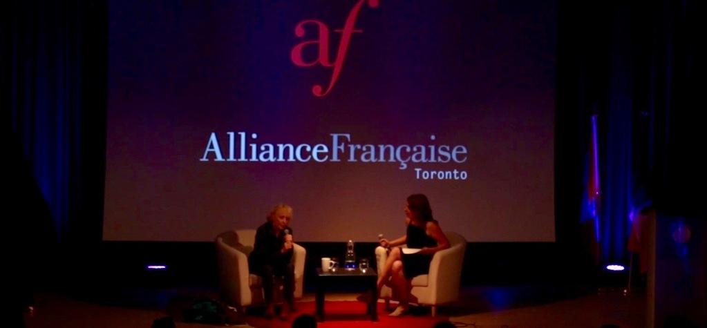 Masterclass Claire Denis à l'Alliance Française de Toronto