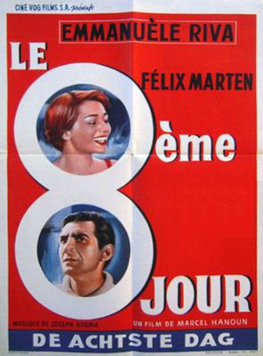 Le Huitième jour - Poster Belgique