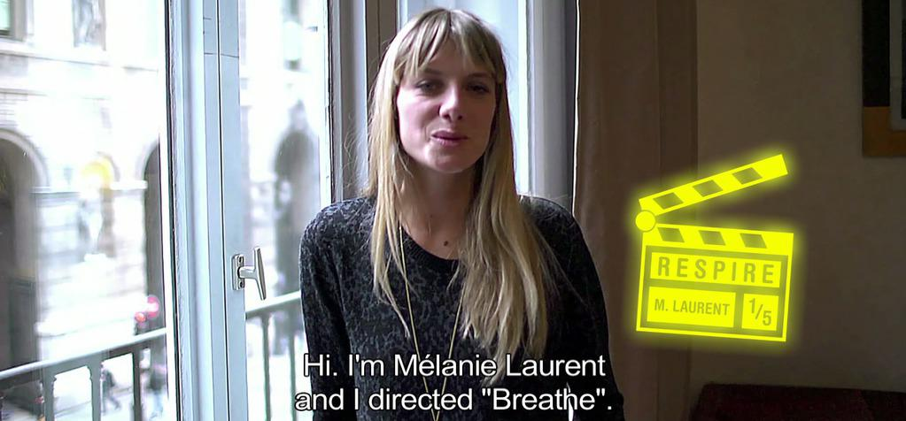 Interview with Mélanie Laurent