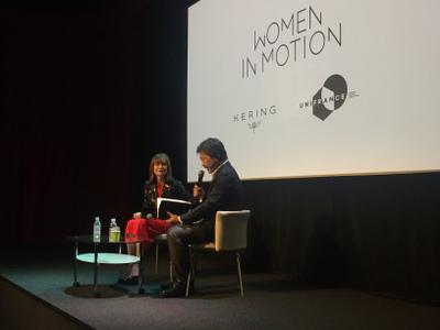 Portfolio - Talk Kering à l'Institut Français, Isabelle Huppert & Hirokazu Koreeda