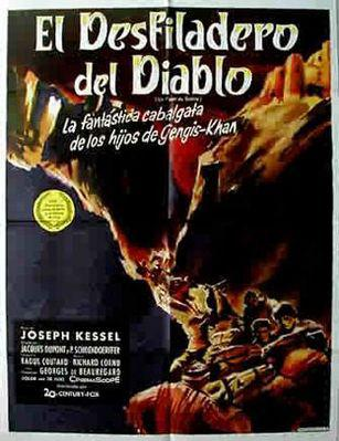 El Desfiladero del diablo - Poster Espagne