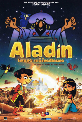 Aladin et la lampe merveilleuse - Poster - Ressortie France