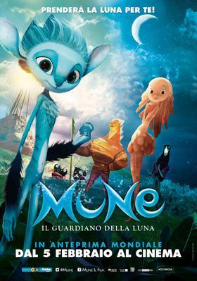 Mune, le gardien de la lune - Poster Italie
