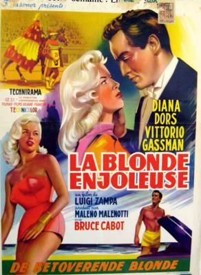 La Blonde enjôleuse - Poster - Belgium