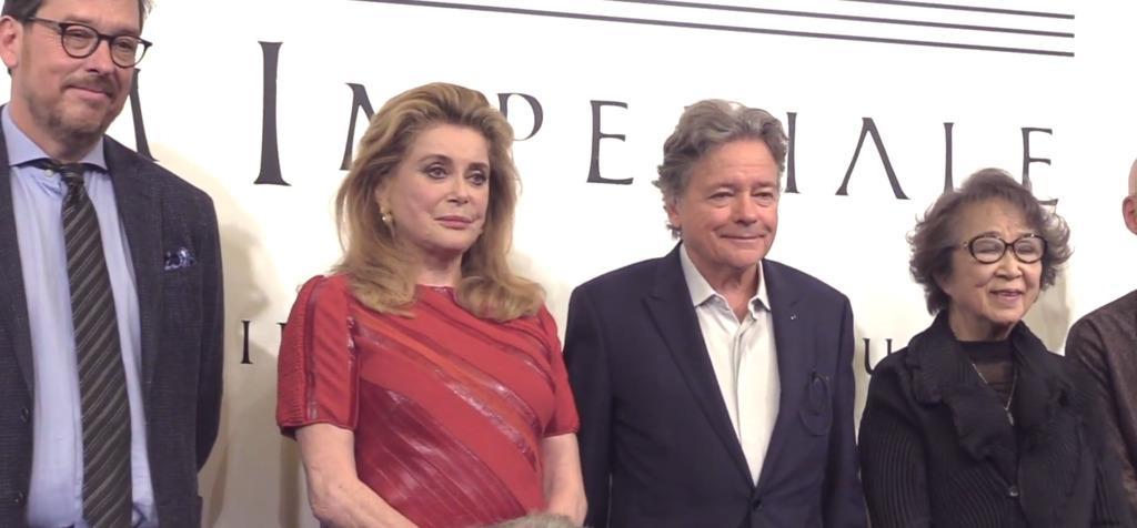 Catherine Deneuve reçoit le Praemium Imperiale, le Nobel japonais des Arts