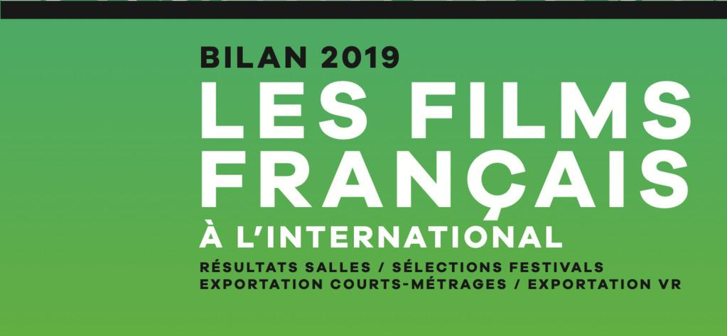 Bilan 2019 des films français à l'international