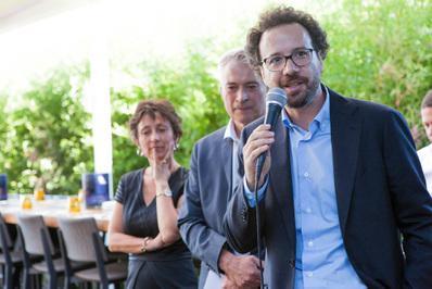 Impresionante delegación francesa en el Festival de Locarno - Carlo Chatrian - © Ivana De Maria / UniFrance