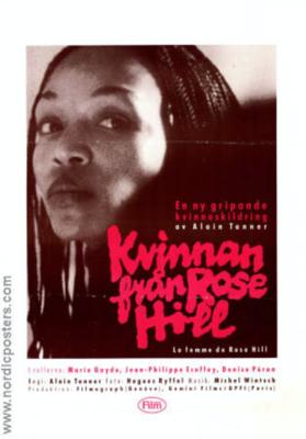 La Femme de Rose Hill - Poster - Suède