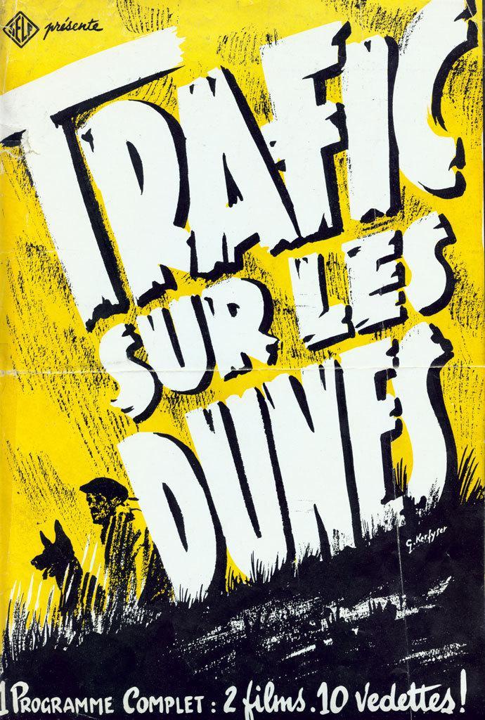 Trafic sur les dunes