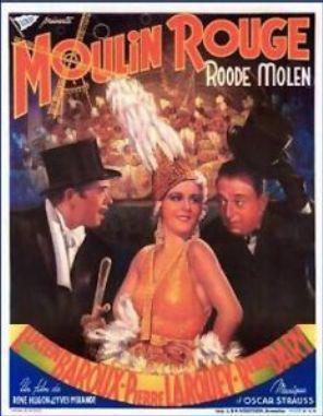 Moulin Rouge - Poster Belgique