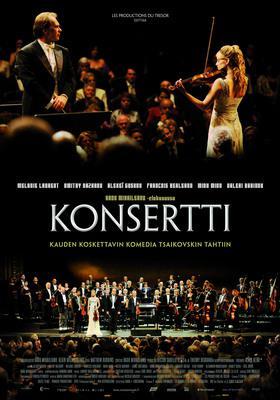El concierto - Affiche Finlande