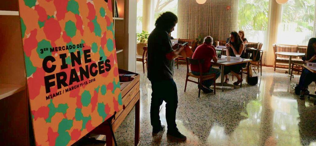 À propos des vendeurs français, au Mercado del Cine Francés de Miami