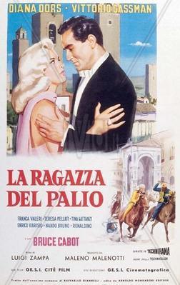 Diana, la muchacha del palio - Poster - Italy