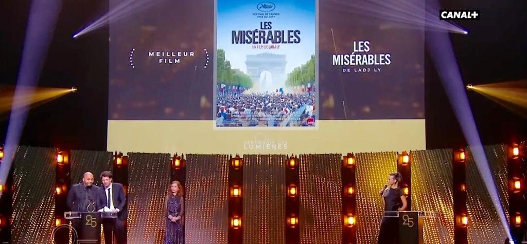El palmarés al completo de la ceremonia de los premios Lumières 2020