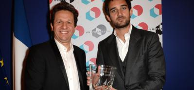 UniFrance presents the French Cinema Award to the makers of The Little Prince
