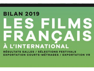 Informe sobre los resultados del cine francés en el extranjero en el 2019