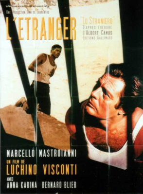 El Extranjero - Poster France - réédition