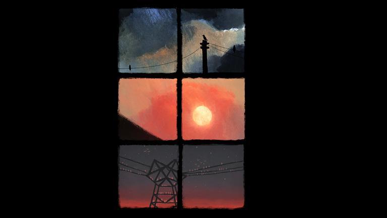 La Fenêtre fermée