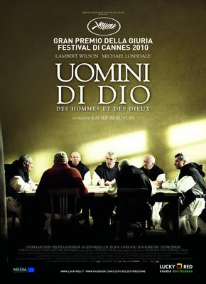 Of Gods and Men - affiche Italie