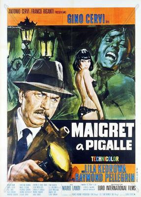 Maigret in Pigalle - Poster - Italy
